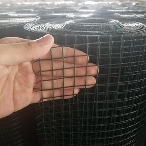 Cheap Price 16 Gauge Black Vinyl Coated Welded Wire Mesh Size