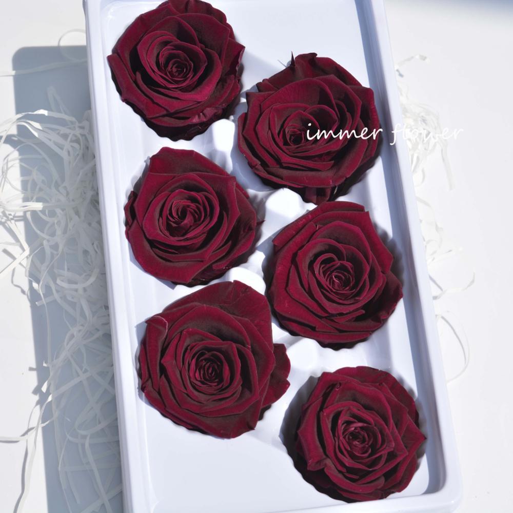 Preserved Rose With Stem Preserve Roses
