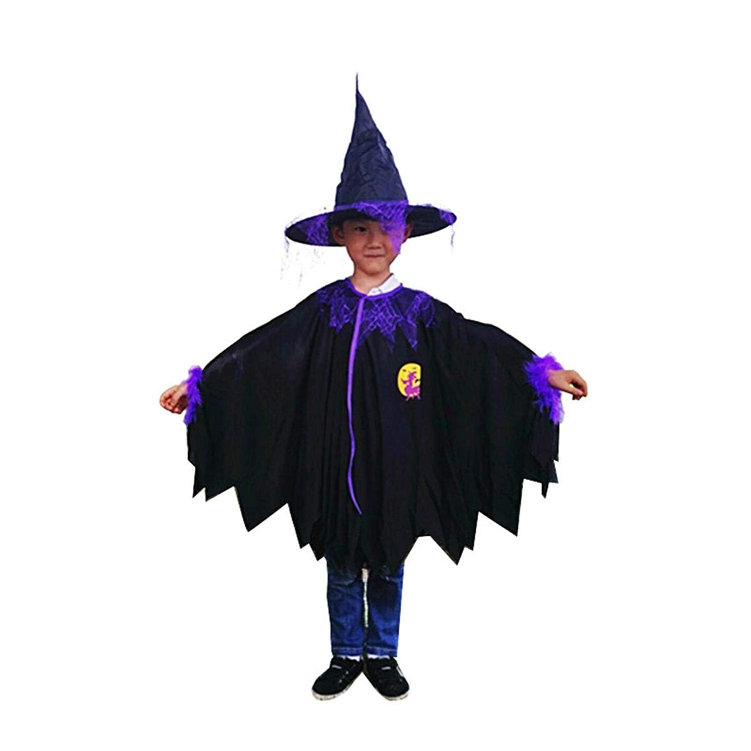 Una Halloween Cloak Cosplay Props New Masquerade Little Witch Dress up Children's Cloak Cloak