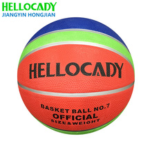 B12 010 size 3 embossed logo all printed customized inflatable rubber basketball