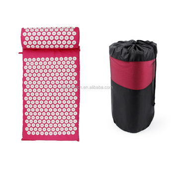 Pefect cotton combo acupressure mat and pillow
