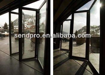Exterior Doors Usage Aluminum Veranda Bifold Doors - Buy Veranda ...