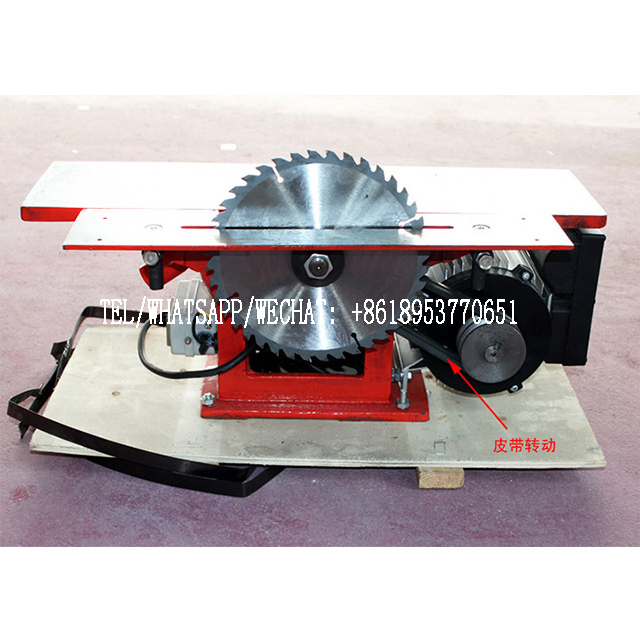 Industrial grade 220V multi function planer, cutting and drilling machine.120 150 200 300 four models