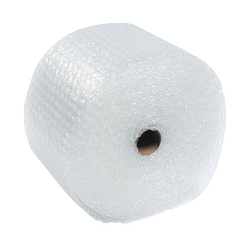 The Packaging Wholesalers 3/16 x 48 Inches x 300-Feet Slit 12-Inch Perfed 12-Inch Retail Length Small Bubble (4 Rolls/Bundle) (CBWUP316S12P)