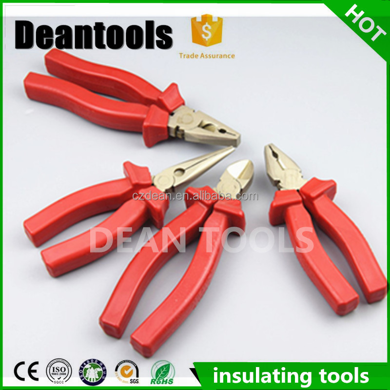 Multipurpose tools 1000V insulation combination pliers long nose/diagonal pliers
