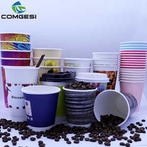 Chinese Wholesale recyclable New design high quality Eco friendly expresso coffee cups paper disposable
