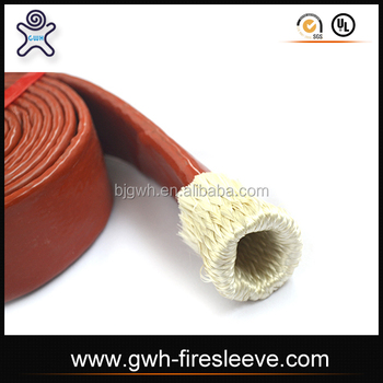 Wrapped Tubular Heat Fire Sleeve with Silicone Rubber