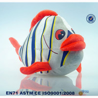 Cheap Fish Toys/Plush Clowns Fish/Soft Toys For Crane Machine