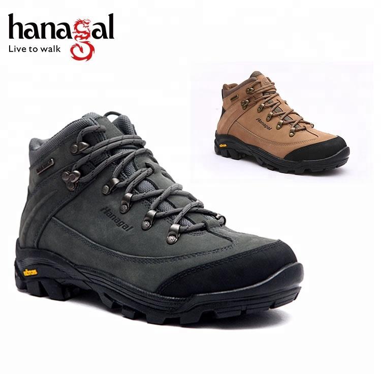 Chaussures de sport de plein air pour hommes en cuir véritable de qualité supérieure OEM