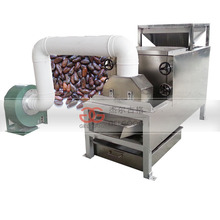Professionele Automatische <span class=keywords><strong>Cacao</strong></span> Huid Dunschiller Cacaoboon Peeling Machine