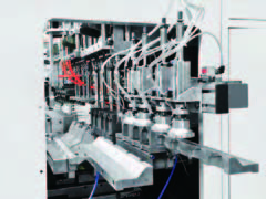 5Liter IML Extrusion blow molding machine