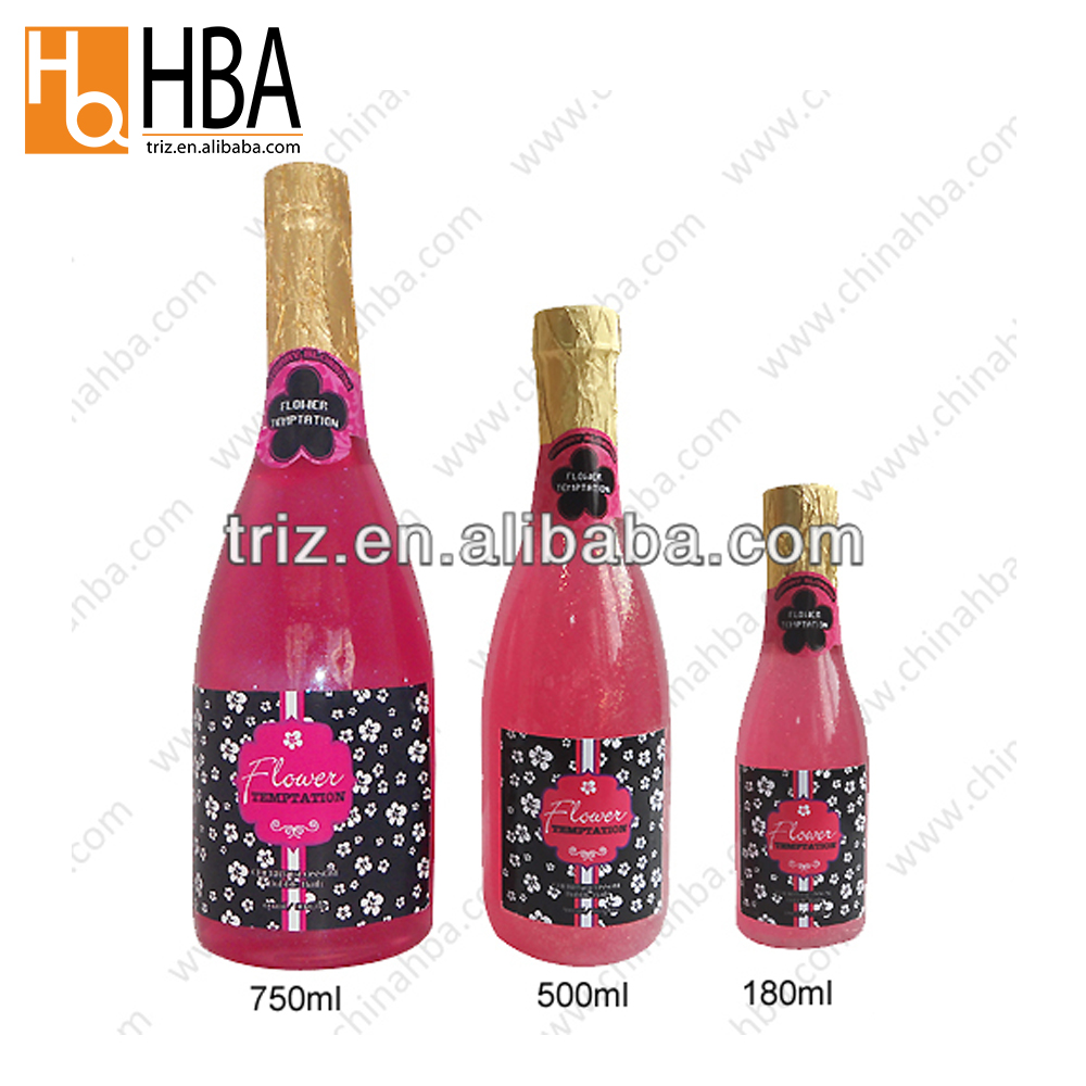 China groothandel bulk champagne fles clear spa vloeistof bubble bad