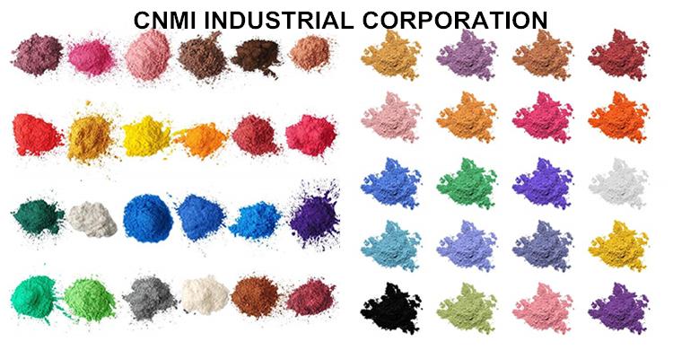 Pigment industriel de résine époxyde de colorant de résine époxyde de certificat de la poudre FDA de Mica de CNMI