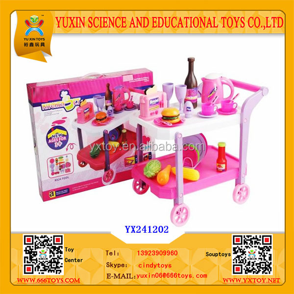 cocina conjunto de juguete de la del beb con stroller