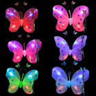 Hot sale 2019 kids Halloween dance costumes 4sets butterfly wings with led without led for Children halloween party