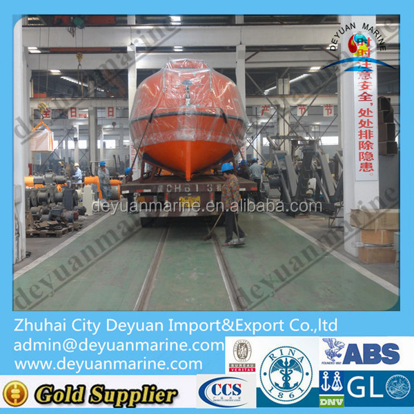 Marine Steel Hull Boat Sale Solas Frp Life Boat Totally Enclosed ...