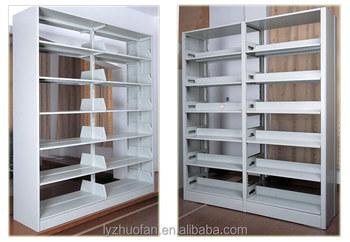 Steel Book Rack Cabinet Movable Bookshelf