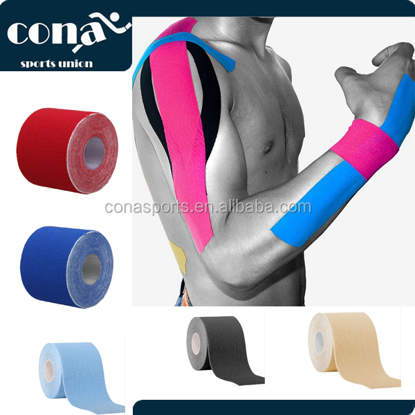 Kinesiology Tape Plus FREE eTaping Guide Wrap-It-Up with Premium Athletic Performance Tape, Advanced Adhesive, Water Resistant