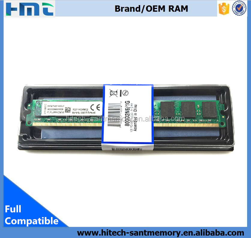 Factory price ddr memory ram pc800 ddr2 1gb ram