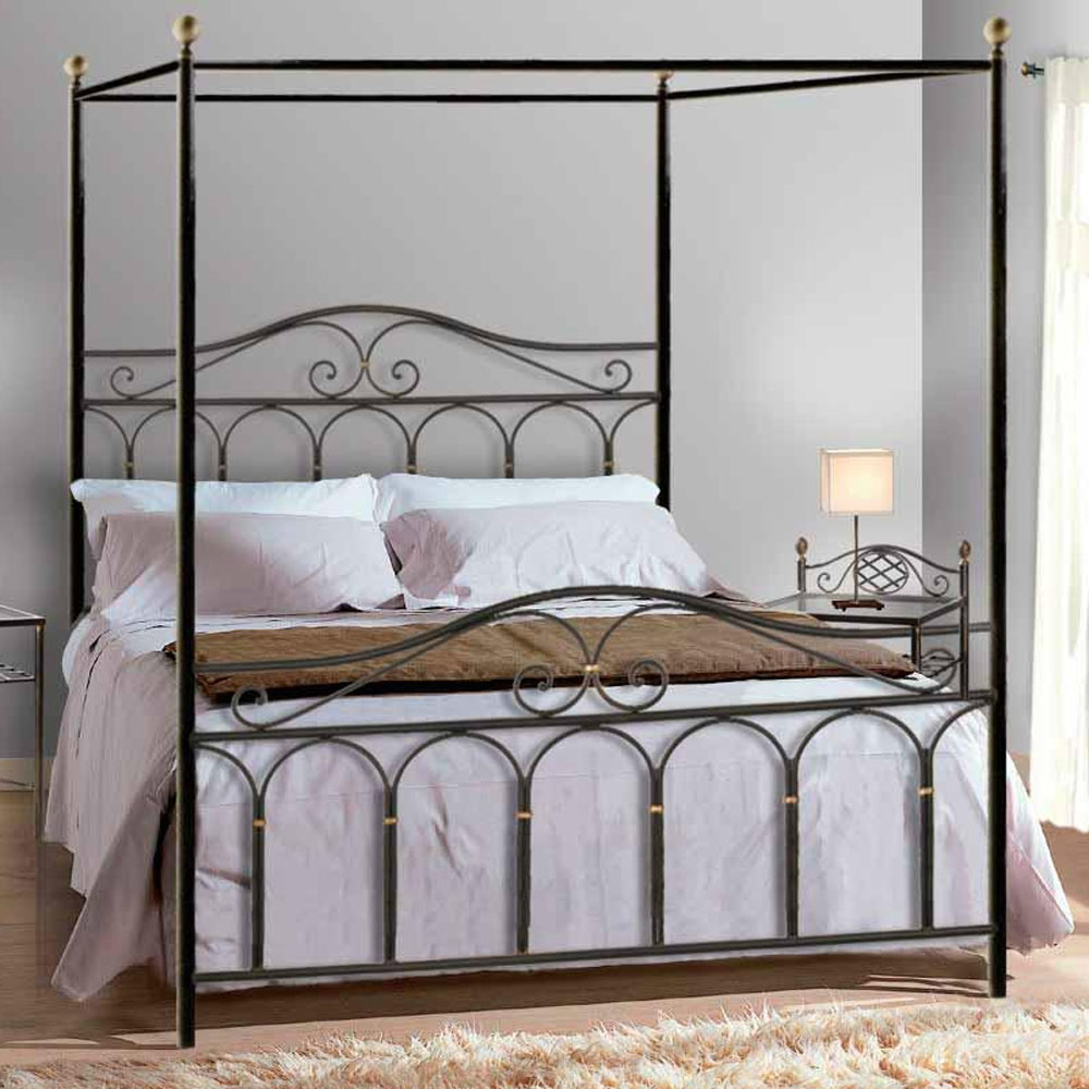 - Manufacture King Iron Canopy Beds China