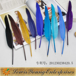 Quill Pens Set/Colored Quill Pens/Novelty Quill Pen