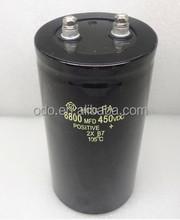 Free Shipping 450V 6800uf 6800uf 450v Electrolytic Capacitor Radial 75mmx145mm