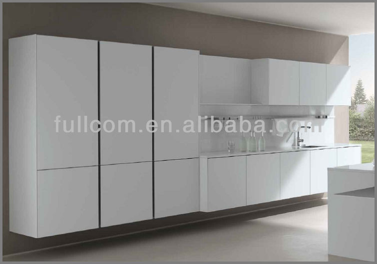 Mdf Painted High Gloss Slab Kitchen Cabinet Doors