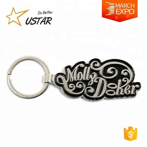 High quality cheap custom metal key chain souvenir with your logo,Customized key ring NO Minimum