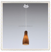 Glass lampshade incandescent pendant light fixtures with CE, UL