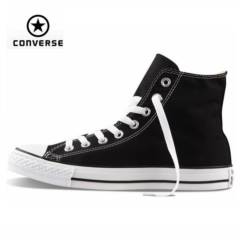 4b22918a1fb75c Original Converse all star shoes high men women s sneakers canvas shoes for  men black high classic Skateboarding Shoes-in Skateboarding Shoes from  Sports ...
