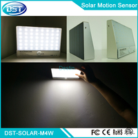Sun Powered Motion Wall Light 48 LED Lamp ip65 Outdoor Aluminum Frame