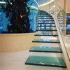 5mm+PVB+5mm laminated glass for building stairs