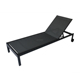 Outdoor Garden Patio Furniture Metal / Aluminum Armless Lounge Chair Sun Bed loungers