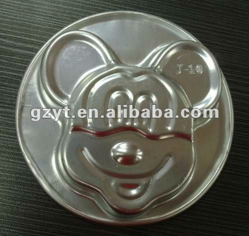 Mickey Mouse Aluminum Muffin Cup Cake Cupcake baking Mold