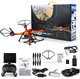 Original JJRC H11D 5.8G FPV Drone with Camera 2.0MP HD 4CH 6 Axis RC Quadcopter RTF Toy Gift Drone Orange color
