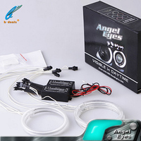 electric car kits ccfl angel eyes,captiva headlight halo rings for Chevrolet