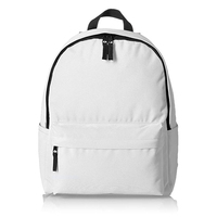 College Daypack Nylon Backpack Foldable Bags Travel Wholesale Backpack White