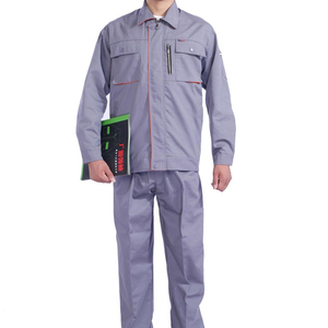 Top Quality OEM Fire Retardant Safety polyester,cotton Coverall Work wear Uniform