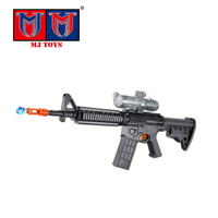 OEM custom plastic electric toy bullet water gun for shooting game