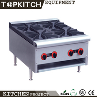 CE Approved High Efficiency Stainless Steel Commercial 4 Burner Electric Stove