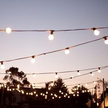 2019  Commercial LED Lighting Festoon Edison retro light string outdoor for Garden Patio Bistro Bedroom