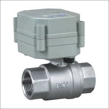 2 way 3/4'' NSF61 SS304 motorized control water ball valve