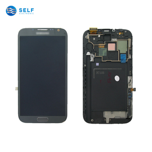 Smartphone replacement display lcd touch screen digitizer for samsung galaxy note 2 n7105
