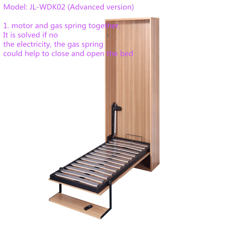 Modern Electric Vertical Hidden Murphy Folding Wall Bed Mechanism