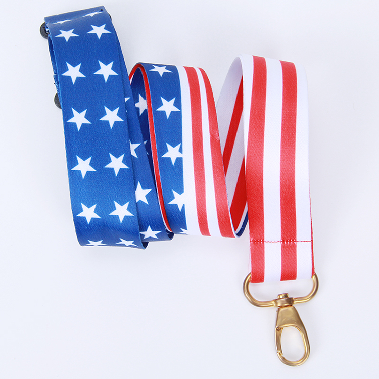 British Union Jack Print Lanyard /& Single lD Card Holder