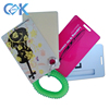 2pcs/3pcs per set luggage tag plastic cards with trunk for traveling.