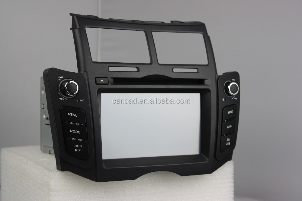 2 din touch screen wince toyota yaris with iPod, dvd, bt, usb, Radio, analog tv, steering wheel control