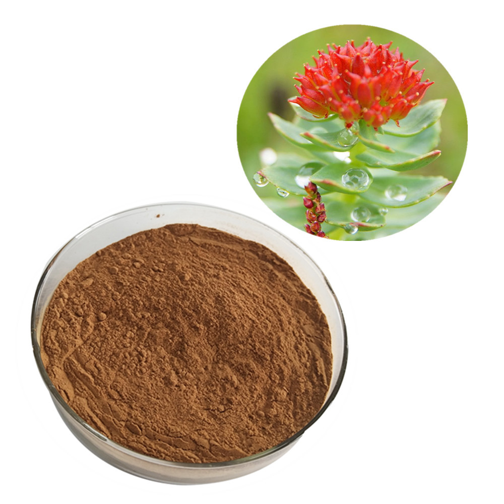 Skin care Pure Natural Rosavin Salidroside Rhodiola Rosea Root Extract