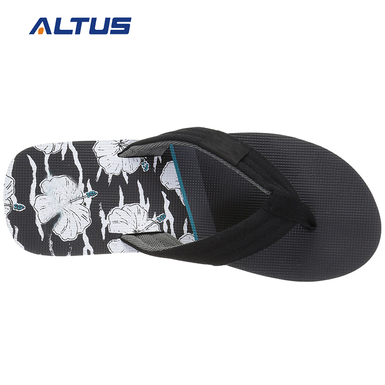 Wholesale promotional white male flip flops sandal design