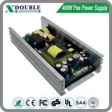 Wholesale China Factory Dual Output 52V 5V Open Frame POE Switch Power Supply 400W With PFC Function